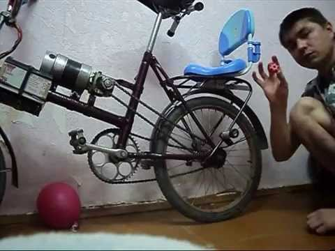 видео: Самодельный электро велосипед. homemade electric bike