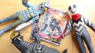 初☆大怪獣ラッシュをやってきた!5枚のカードの排出結果を発表!レビュー ウルトラフロンティア ウルトラマンギンガ