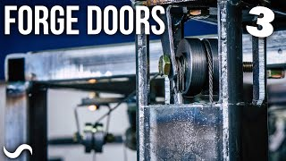 MAKING FORGE DOORS!!! Part 3