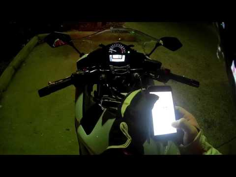 Night Ride Sarasota-Tampa Florida Kawasaki Ninja 650