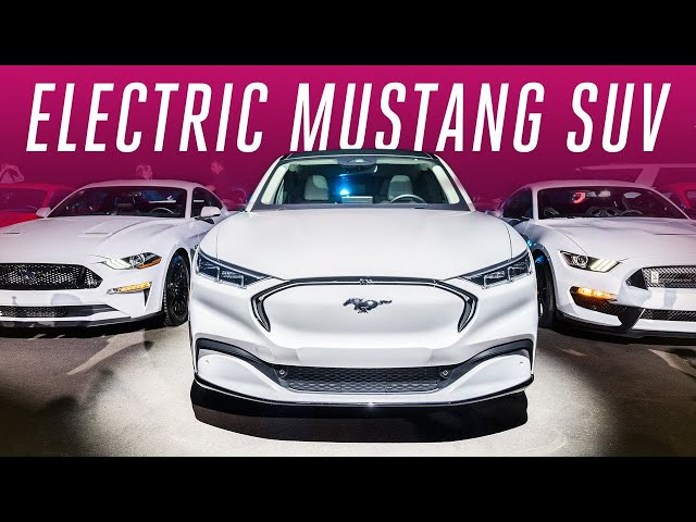 Ford is chasing Tesla with an electric Mustang SUV