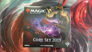 Awesome Planeswalker Pull!  Core Set 2019 Bundle