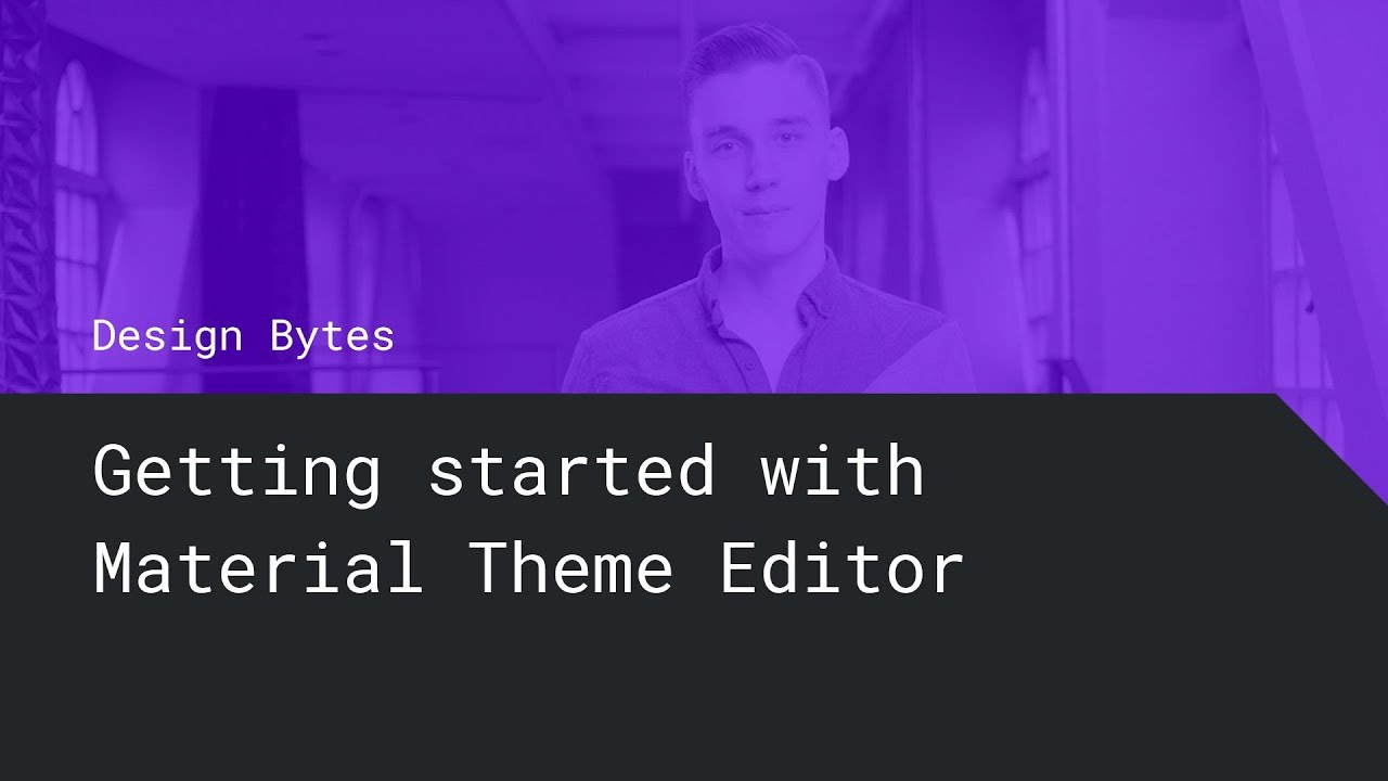 Getting started with Material Theme Editor