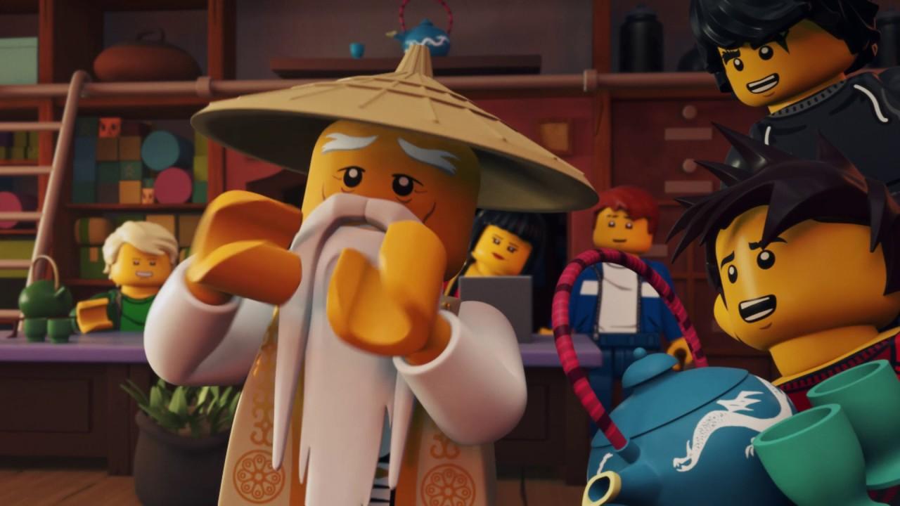 Tajne Herbatki Lego Ninjago Herbatki Wu Odcinek 1 Youtube