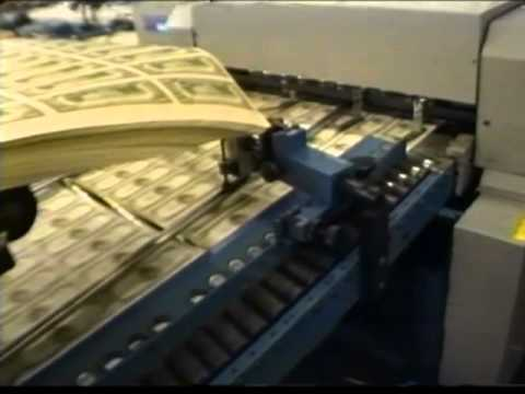 Inside the U.S. Bureau of Engraving and Printing, 1991