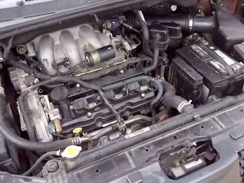 2005 Nissan Quest Solenoid Shift (S4) and Crankshaft Position Sensor