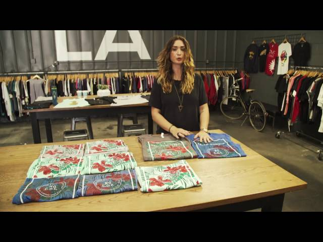 Screen Printing with Discharge and Water Based Ink - YouTube