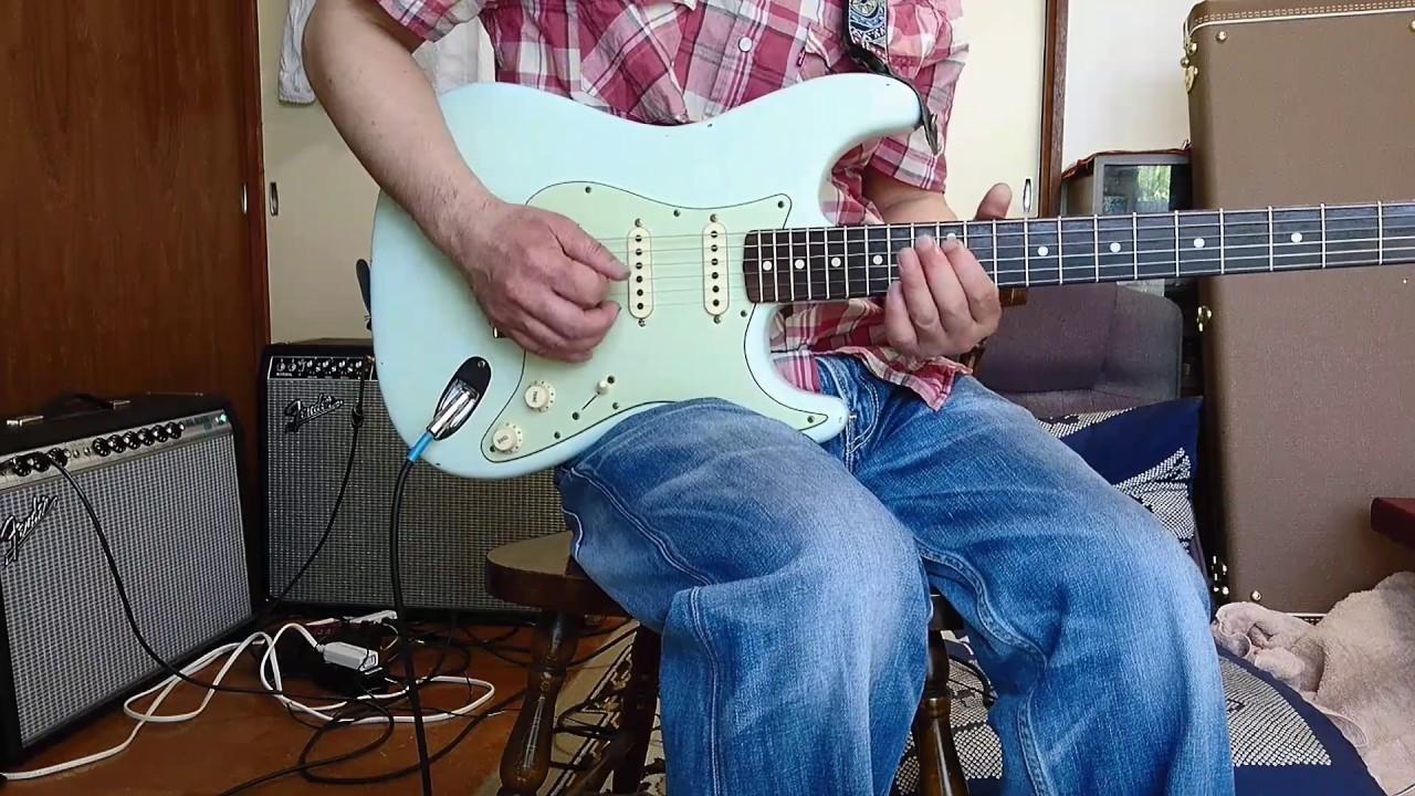 Fender CS 1960 (sanko 6105 frets) stratocaster/65 twin reverb - YouTube