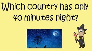 Current Affairs 22  September 2018  Country has 40 minutes night    Akshara Concepts