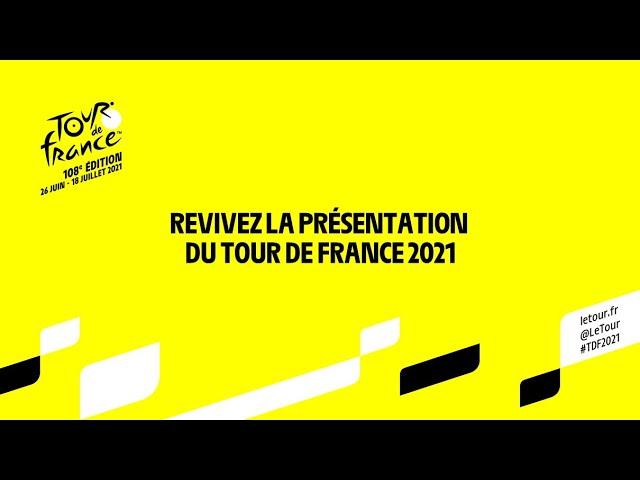 #TDF2021 - Présentation du Tour de France 2021 en direct !
