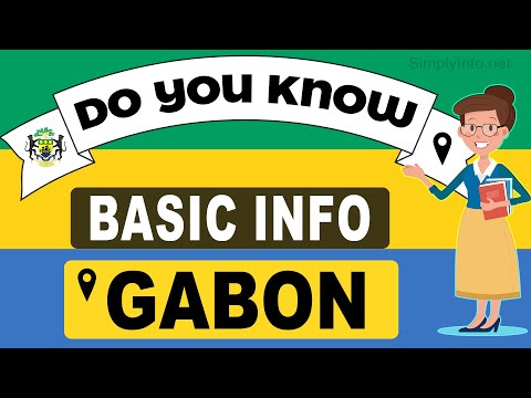 Do You Know Gabon Basic Information | World Countries Information #64- General Knowledge & Quizzes