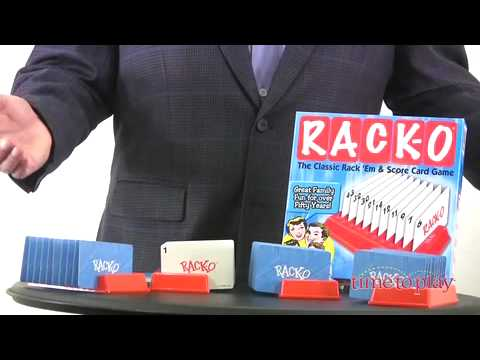 Rack O From Winning Moves Games Youtube