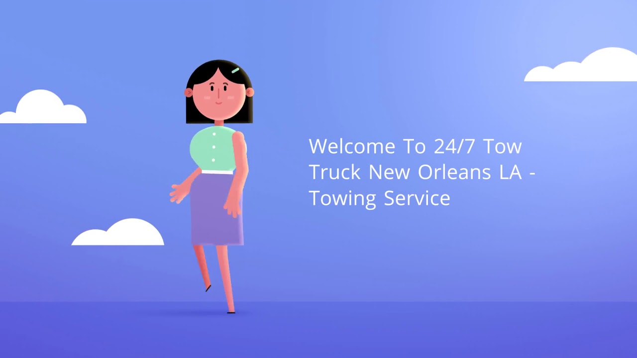 24/7 Tow Truck New Orleans LA - Towing Service