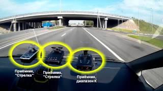 Тест радар-детекторов: обнаружение Стрелки