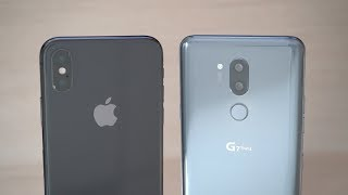 Camera Comparison: LG G7 ThinQ vs iPhone X
