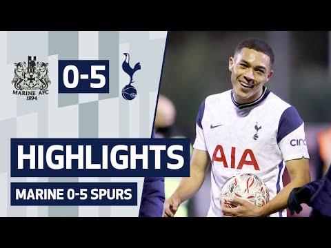 HIGHLIGHTS | MARINE 0-5 SPURS | Vinicius, Lucas and Devine on target!
