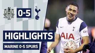 HIGHLIGHTS | MARINE 0-5 SPURS | Vinicius, Lucas and Devine on target!