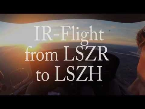 IR flight from LSZR to LSZH