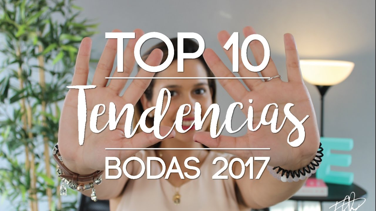 Top 10 tendencias en decoraci n bodas 2017 youtube - Ultimas tendencias en decoracion de salones ...