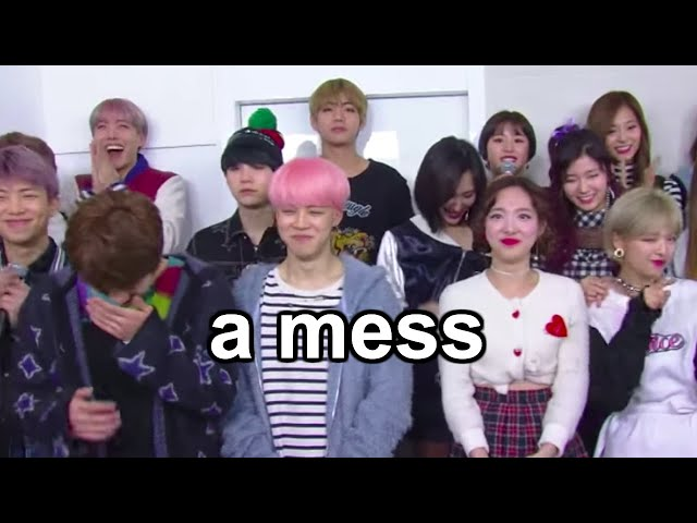 don't put bts & twice in the same room