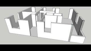 Livestream. Modelowanie domu za 150 tysiecy.pl Sketchup