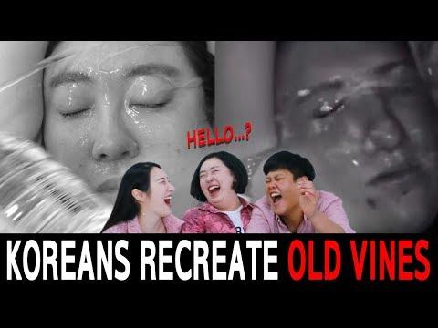 Koreans In Their 30s Recreate LEGENDARY VINES 2