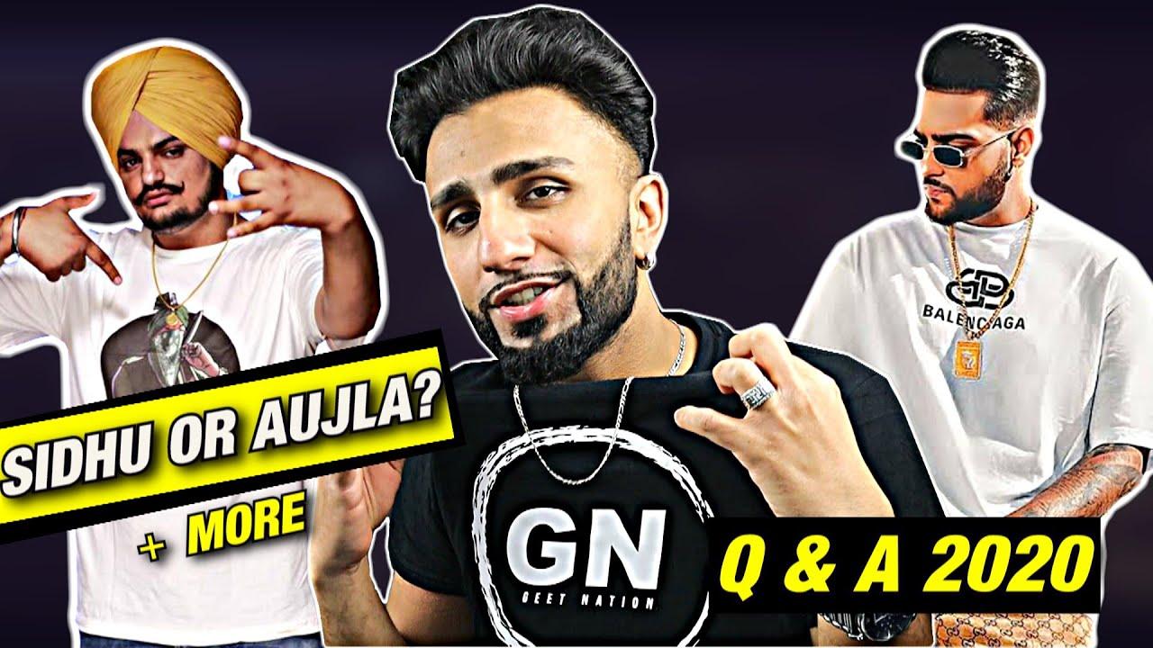 Geet Nation Q&A: Sidhu Moose Wala or Karan Aujla? / Favourite Singer? (+MORE)