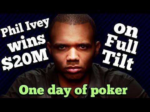 The Days That Saw Phil Ivey Win $20M On Full Tilt Poker