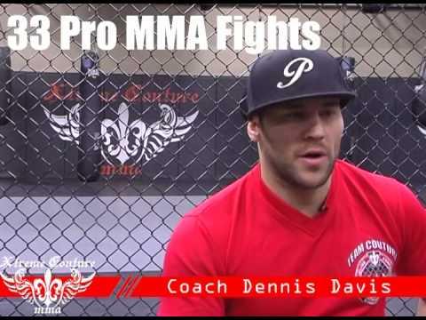 Meet Dennis Davis Xtreme Couture Head MMA Coach