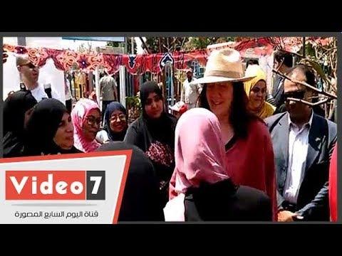 افتتاح أول منطقة صديقة للنساء والفتيات بإمبابة ضمن برنامج مدن آمنة خالية من العنف  - 22:22-2018 / 5 / 19