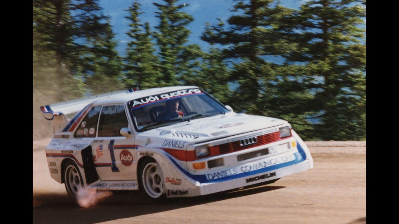 Pikes Peak King Of The Hill with Bobby Unser  1986 PPIHC  YouTube