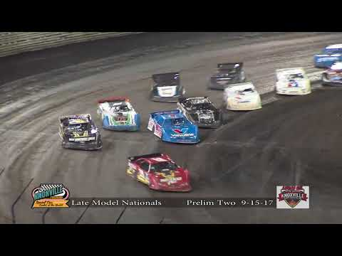 Knoxville Raceway Late Model Nationals 9-15-17 Prelim #2