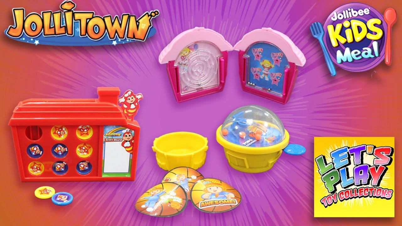 Jollibee Playhouses Unpacking Jollibee Kids Meal Toys 2015