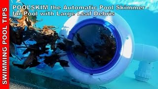 POOLSKIM the Automatic Pool Skimmer - Review