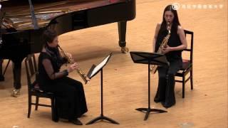 森田一浩 / 2つのサクソフォーンとピアノのための「セレナード」