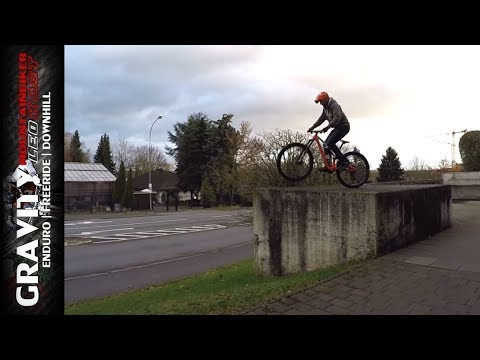 Streetbiken mit Enduro MTB | Urban Challenges & Skatepark | Skateboard Skills | Leo Kast UMLK #57