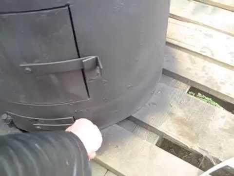 5 май 2014. Интересная конструкция банной печи котёл объёмом 15 литров соеденяется с баком шлангами сам бак может быть любого размера.