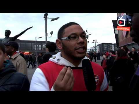 Fan Talk # 5 Angry Gooners Kick Off With Blackburn Fans - Arsenal 0 Blackburn 1 - ArsenalFanTV.com