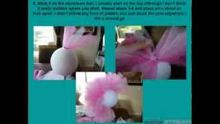 Repeat youtube video DIY Tulle Topiary Tutorial