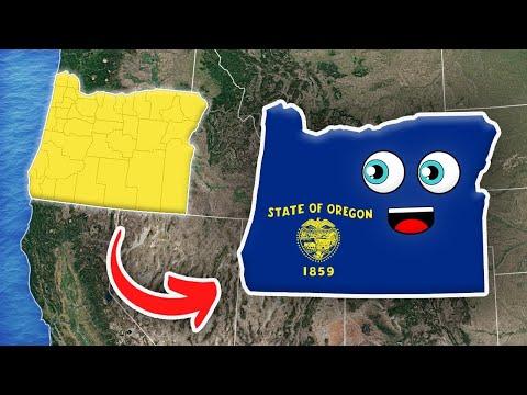 Oregon/Oregon Geography/Oregon State
