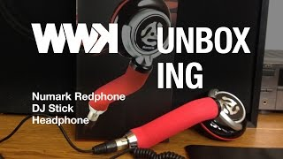 Worlds First Numark Redphone Unboxing