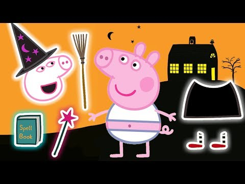 Peppa Pig - Halloween Special 🎃 - Halloween Dress Up - Learning With Peppa Pig