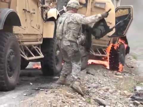 US Soldiers Ambushed in Kunar Province Afghanistan