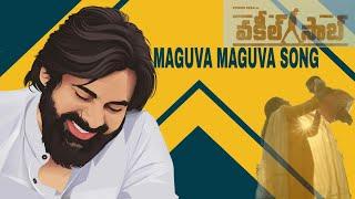 #VakeelSaab - Maguva Maguva Cover Song | Pawan Kalyan | Sid Sriram | Thaman S