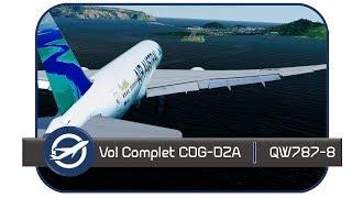 Prepar3D V4 3 Vol Commenté LFPG FMCZ QW787 800