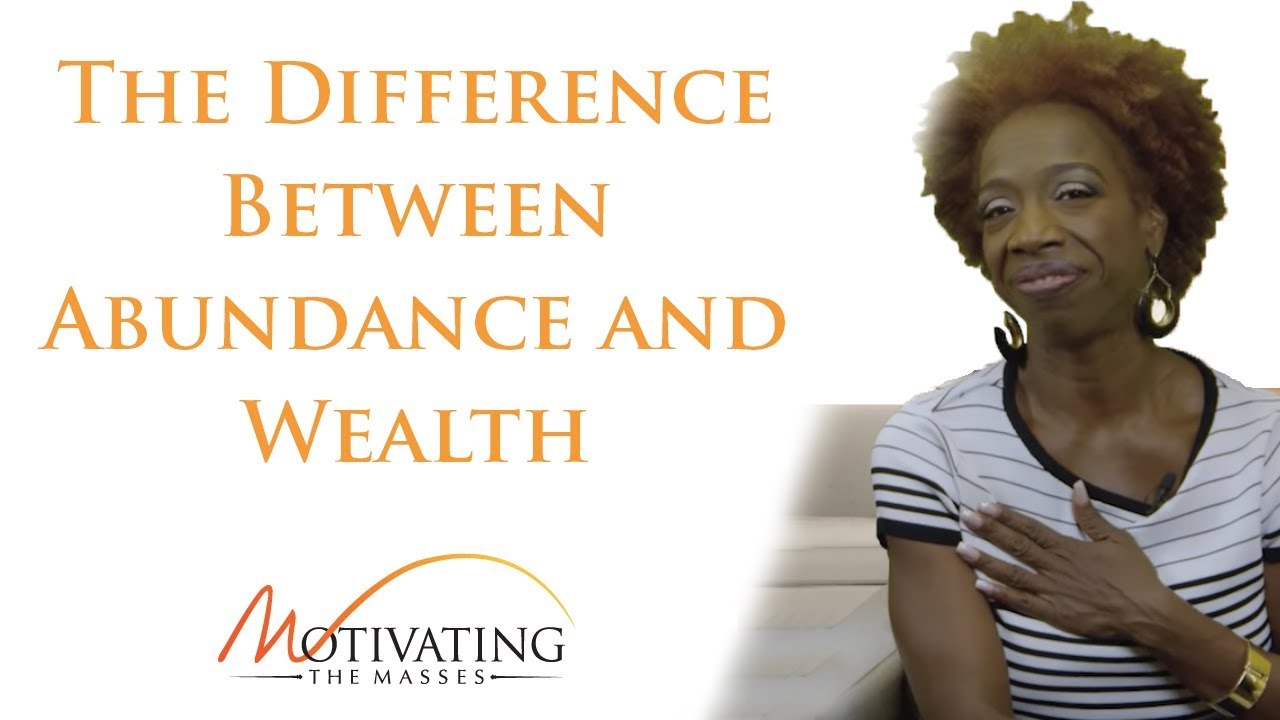 Lisa Nichols - The Difference Between Abundance and Wealth
