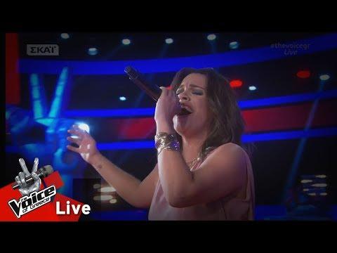 Σοφία Νάσσιου - Cancao do mar  2o   The Voice of Greece