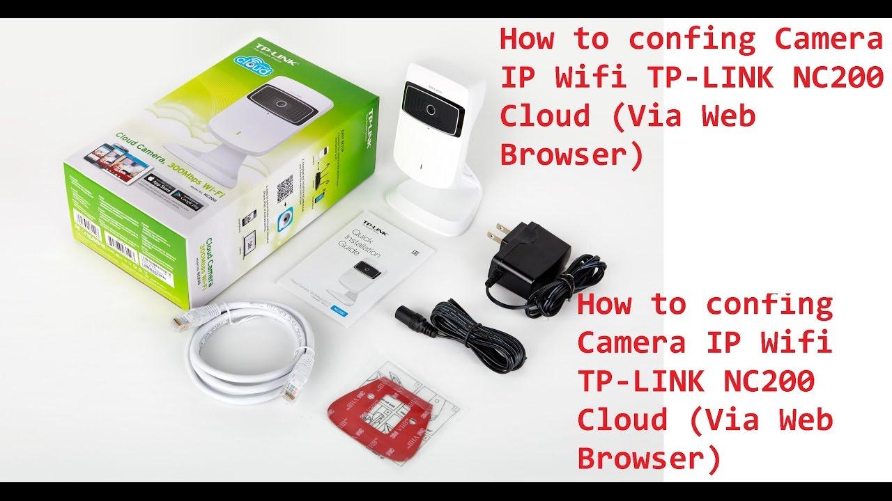 Cum se instaleaza Cloud Camera Tp-Link NC200 - YouTube