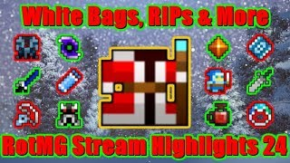 White Bags, RIPs & More! ORYXMAS EVENTS 2018! RotMG Stream Highlights 24 | Realm of the Mad God