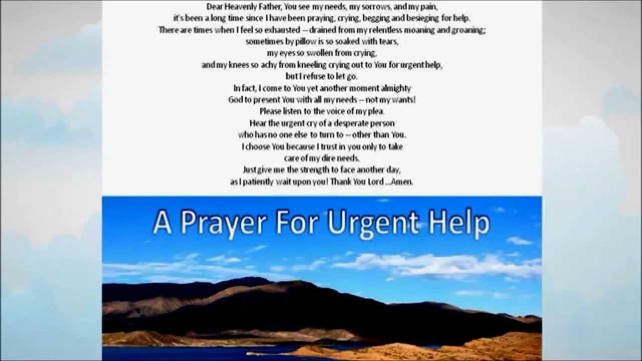Prayer For Financial Help